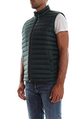 Tommy Hilfiger Herren Weste Lw Packable Down Vest Grau Ponderosa Pine 373