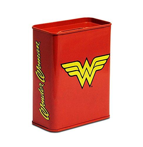 Logoshirt Spardose Wonder Woman - Logo - Sparbüchse DC Comics - Superheld - Lizenziertes - Lizenzierte Wonder Woman Kostüm