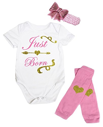 Petitebelle Baby Mädchen (0-24 Monate) Body rosa rose Gr. 40 W/33 L, rose (24 Monate Girl Valentine Outfit)