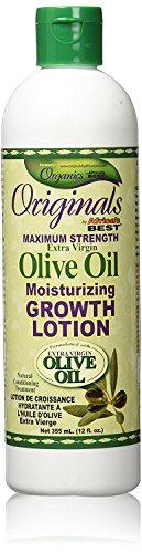 Olivenöl Wachstums-lotion (Africa's Best Organics Olivenöl Wachstums Lotion 16 473 ml)
