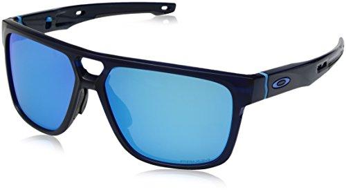 Oakley Herren Crossrange Patch 938203 60 Sonnenbrille, Blau (Matte Translucent Bluee/Prizmsapphire),
