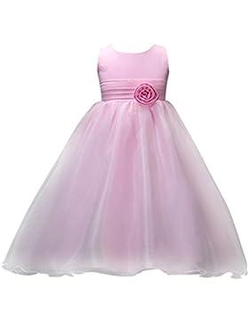 Navidad chica Princesa Boda Fiesta Vestido Cumpleaños lonshell Flores maedchen vestido flores formal dama de honor...