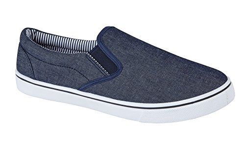 Strong Souls Mens Canvas Pumps Plimsoles Plimsolls Trainers Espadrilles Shoes Boys Size UK 7-12
