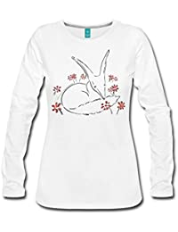 Spreadshirt The Little Prince Fox In The Rose Garden Women's Premium Longsleeve Shirt