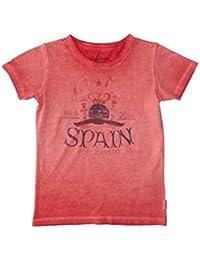 Pepe Jeans London Camiseta Manga Corta Spain Rojo Oscuro 10 años (140 cm)