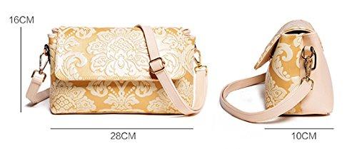 KUWOMINI.Women Bags Tutti I Sacchetti Di Stagione Del Sacchetto Insieme Con Per L'oro Bianco Casuale All'aperto Bianco Nero Blu Blue