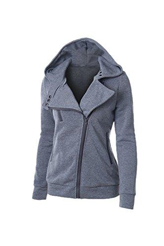 - Des Sweat - Shirts Veste Polaire Un Sweat À Capuche Grey