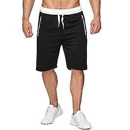 SELENECHEN Pantaloncini Palestra Uomo, Sport e Allenamento Fitness Shorts Jogging Pantaloni Bermuda Uomo