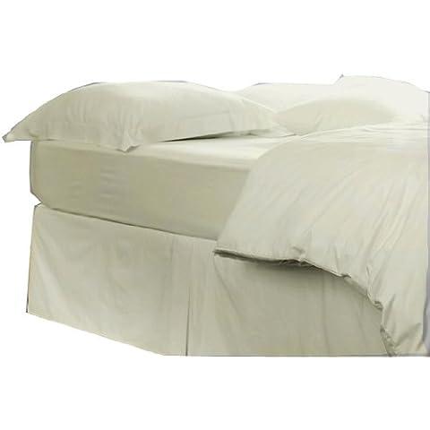 Charlotte Thomas - Cubre canapé para cama de matrimonio, color crema