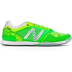 New Balance Audazo Pro Futsal, Zapatilla de fútbol Sala, Green Lime, Talla 12,5 USA (47 EUR)