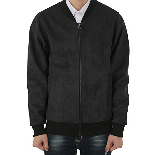 majeclo-mens-premium-suede-bomber-jacket-large-black-001