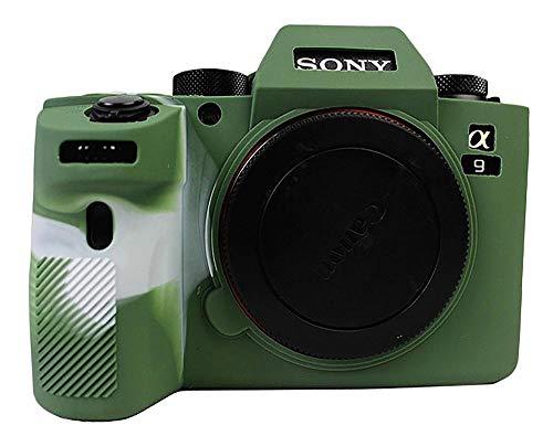 Civic limitX Silikon-Rüstung Skin Case Schutzhülle für Sony Alpha A9 ILCE-9 Full Frame Mirrorless Camera