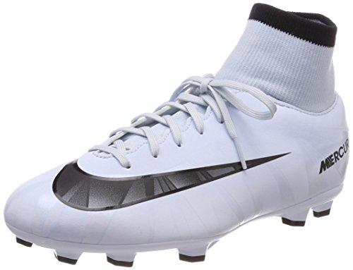 Nike Unisex-Kinder Jr Mercurial Victory VI CR7 DF FG Fußballschuhe, Blau (Blauton/Schwarz-Weiß-Blauton 401), 38.5 EU (Fußball Schuhe Nike Mercurial Kinder)