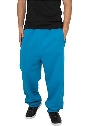 Urban Classics Sweatpants Men white (TB014B) Turquoise