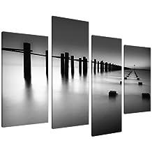 Cuadros enLienzo Grande Blanco y Negro Imágenes XL 4085