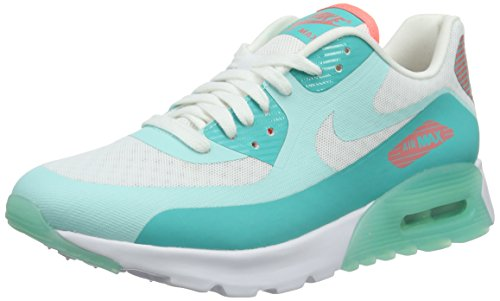 Nike Wmns Air Max 90 Ultra Breathe, Baskets Basses Femme Blanc