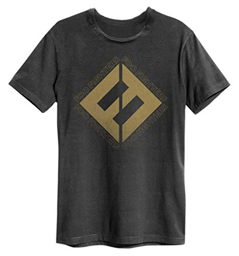 Foo Fighters 'Concrete & Gold' (Charcoal) T-Shirt - Amplified...