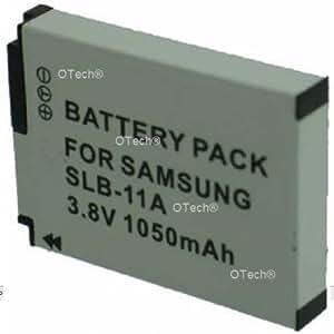 Otech D127SN Batterie pour Appareil Photo Numérique de type Samsung SLB-11A 3,8 V