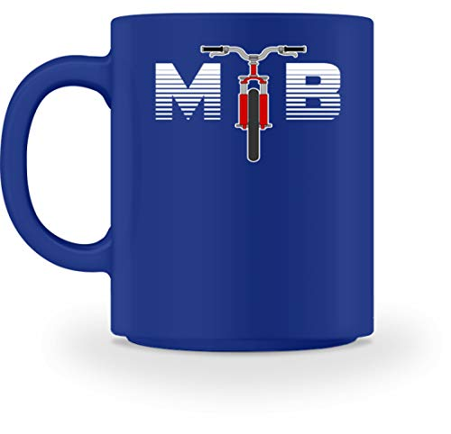 SPIRITSHIRTSHOP MTB - Mountainbike, Bergfahrrad, Geländefahrrad, Fahrrad, Fahrradfahrer, Rennrad, Bikes - Tasse -M-Royal Blau (Royal-baby-tasse)