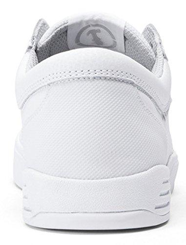 Supra Unisex-Erwachsene Hammer Sneaker Weiß - Blanc (White/White)