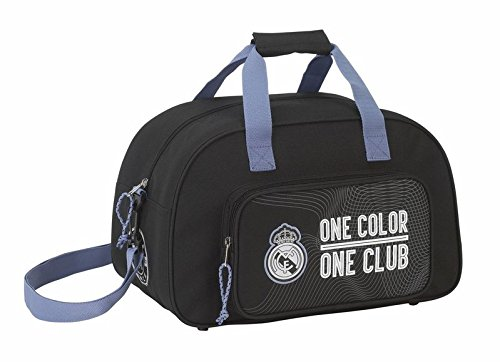 SAFTA-Bolsa-deporte-Real-Madrid-Black-40cm