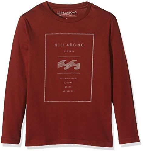 Brick Reversed Billabong-Maglietta a maniche lunghe da ragazzo, taglia: 14 anni (taglia del produttore: 14)