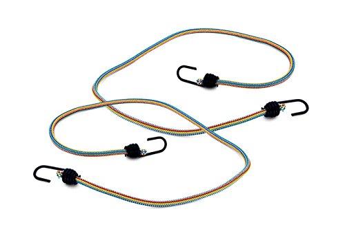 Max-Power DY270621M Lot de 2 tendeurs élastiques pour bagages avec crochets en métal, 100cm