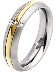 Boccia Damen-Ring Titan Diamant weiß 0131_2