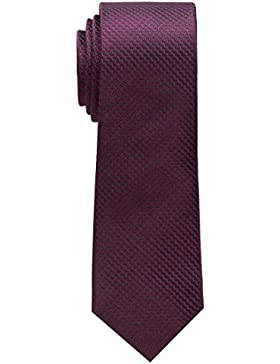 ETERNA Krawatte schmal unifarben