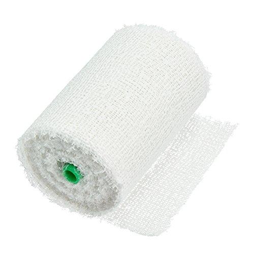 EFCO 1 Rolle Modellierbinde, selbsthaftende Pflaster Bandage, Weiß, 80 mm x 3 m,1911002