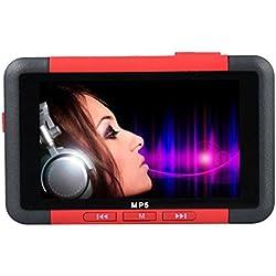 Y56 'Lecteur MP5Slim Lecteur de Musique MP3MP48Go de 4,3Pouces écran LCD Radio FM Vidéo Film
