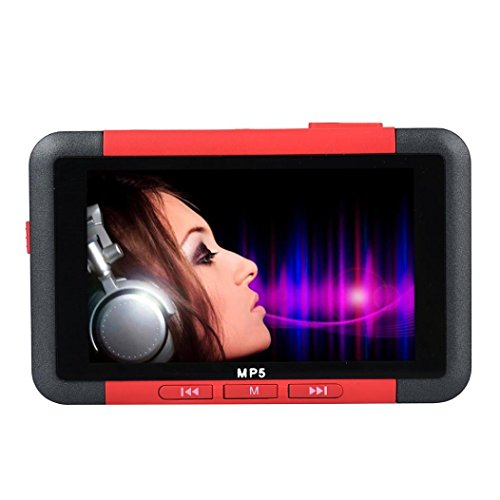 Y56 8 GB MP5 Player Slim MP3 MP4 Musik-Player Mit 4,3 '' Zoll LCD-Bildschirm FM Radio Video Film (Mp4-videos)
