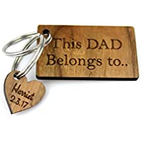 Dad Gifts Keyring - Father's Day Birthday Christmas Ideas