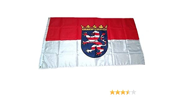 Fahne Flagge Hessen NEU 60 x 90 cm Fahnen Flaggen Misc.