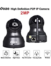 Ooze IP Camera 720p/1080P Wireless HD IP WiFi CCTV Indoor S