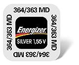 Energizer 635709 Pila a Bottone 364