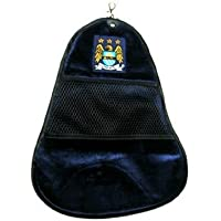 MAN CITY CLEAN SWING GOLF TOWEL NAVY