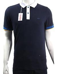 Sun68 - T-shirt - Homme bleu bleu