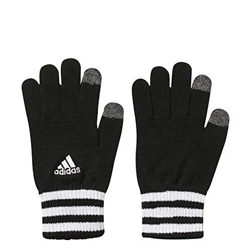 Adidas Ess 3S Guanti, Nero/Bianco/Grigio (Nero/Bianco/Brgros), M