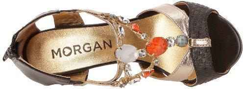 Morgan 141 1Gisan A, Sandales femme Noir