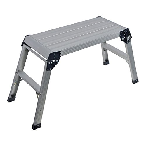 Silverline 640000 - Escalera plegable (150 kg de carga)