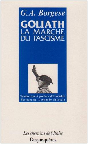 Goliath La Marche Du Fascisme [Pdf/ePub] eBook