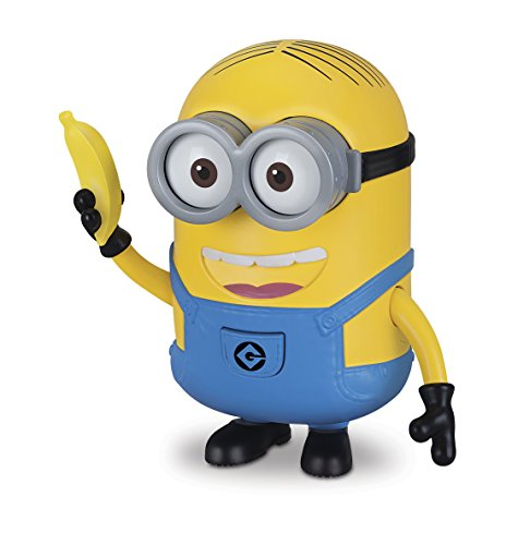 Minions - Deluxe Figure with Voice, 12 cm, by Dave Banana (Bizak 61230280)