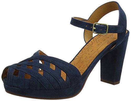 Chie Mihara Gaime, Sandales à talons femme Blue (ante Indigo)