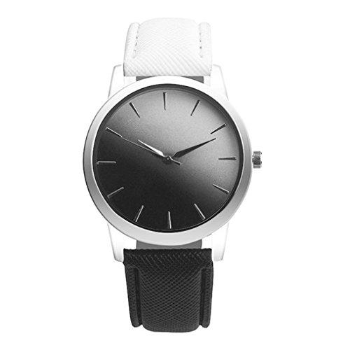 Armbanduhr Damen Uhr Xinnantime Retro Design Band Aus Quarz Analoge Quarz Damenuhr Farbe Mischen 3 (Standard, A)