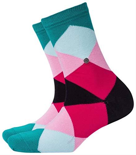 Burlington Damen Bonnie Socken, Mehrfarbig (Scarab Velvet 7704), 36/41 (Herstellergröße: 36-41)