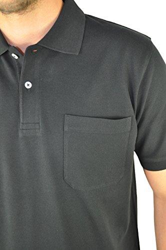 KITARO - Herren Poloshirt in verschiedenen Farben (68800) Schwarz (100)
