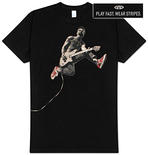 Eddie Van Halen Eddie Jumping Slim Fit T-Shirt Large