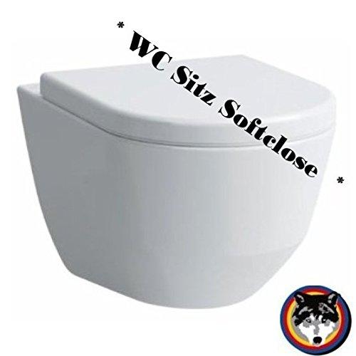Laufen Pro rimlees Wand-WC spülrandlos Rimfree WC Sitz Softclose