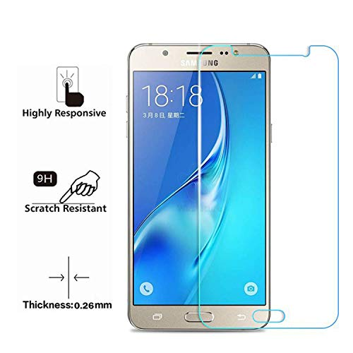 Vikimen Ausgeglichenes Glas-Film, Schirm-Schutz, 0.26Mm 9H 2.5D Tempered Glass for Galaxy J3 J5 J7 Screen Protector On for S6 S7 Protective Film J5 2017 Echo-serie-display